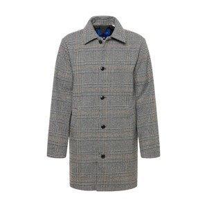 JACK & JONES Přechodný kabát 'TIMMY'  světle šedá / černá