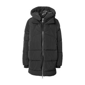 s.Oliver Zimní kabát  černá