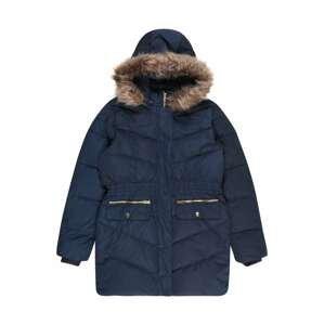NAME IT Zimní bunda  námořnická modř