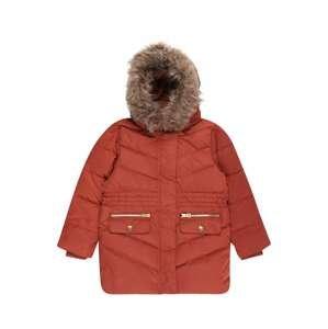 NAME IT Zimní bunda 'Maxim'  rezavě červená