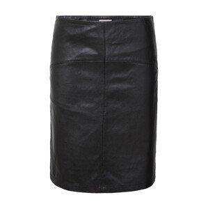 PULZ Jeans Sukně 'VIVIANE'  černá