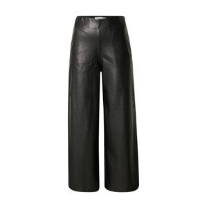 ICHI Kalhoty  černá