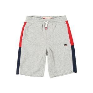 LEVI'S Kalhoty  šedá / bílá / modrá / červená