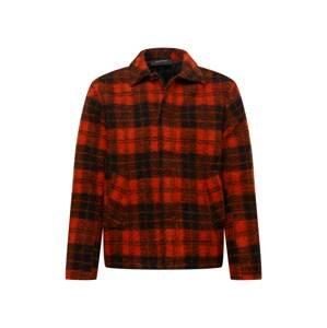 PEAK PERFORMANCE Funkční košile  černá / červená