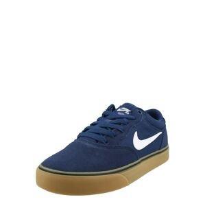 Nike SB Sportovní boty 'Chron 2'  námořnická modř / bílá