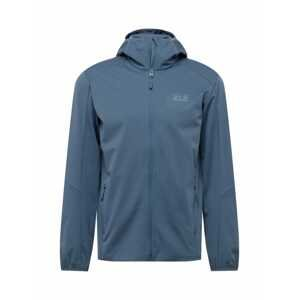 JACK WOLFSKIN Outdoorová bunda 'Go Hike'  chladná modrá / šedá
