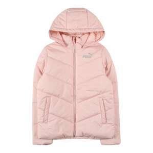 PUMA Přechodná bunda  světle růžová