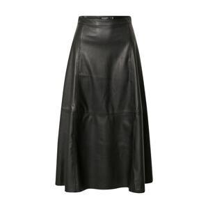 SOAKED IN LUXURY Sukně 'Malene'  černá