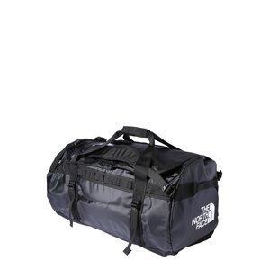 THE NORTH FACE Cestovní taška 'Base Camp'  černá / bílá