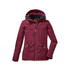 KILLTEC Outdoorová bunda  vínově červená