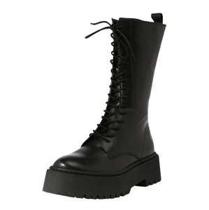 ABOUT YOU x INNA Šněrovací boty 'Vivien'  černá