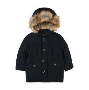 STACCATO Zimní bunda  námořnická modř / světle hnědá