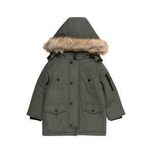 BASEFIELD Zimní bunda  zelená