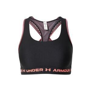 UNDER ARMOUR Sportovní podprsenka  černá / pink