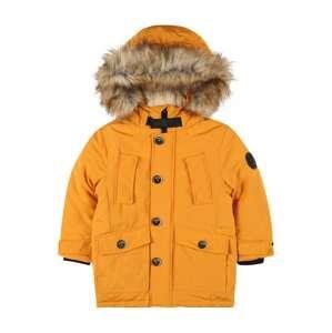 STACCATO Zimní bunda  hořčicová
