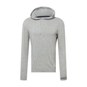 Pepe Jeans Svetr 'GASTON'  šedý melír / režná