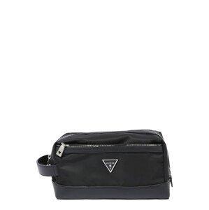 GUESS Toaletní taška 'Certosa'  černá