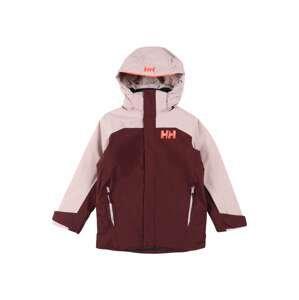 HELLY HANSEN Sportovní bunda  krvavě červená / růžová