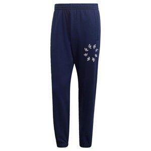 ADIDAS ORIGINALS Sportovní kalhoty  tmavě modrá / bílá