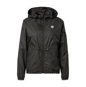 MOROTAI Sportovní bunda 'NAKA'  černá / bílá