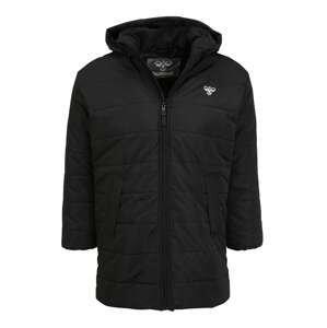 Hummel Zimní bunda 'Berlin'  černá / bílá