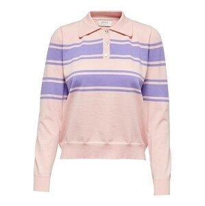 ONLY Tričko 'Incbeate'  růžová / fialová