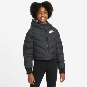 Nike Sportswear Přechodná bunda  černá
