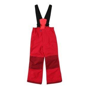 VAUDE Outodoor kalhoty  červená / tmavě červená / černá