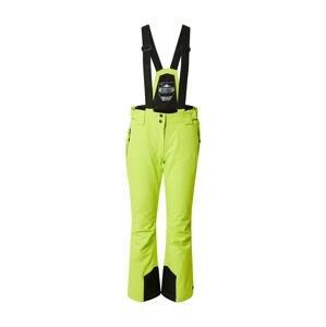 KILLTEC Outdoorové kalhoty  světle zelená / černá