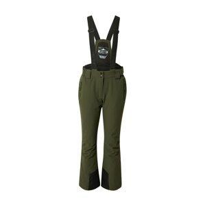 KILLTEC Outdoorové kalhoty  olivová / černá