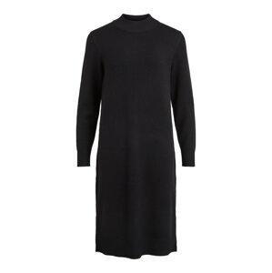 Vila Curve Úpletové šaty 'Ril'  černá