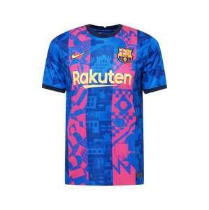 NIKE Trikot 'FC Barcelona 21-22 3rd'  kobaltová modř / pink / žlutá / černá