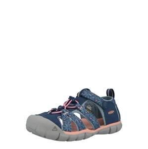 KEEN Otevřená obuv 'SEACAMP II'  modrá