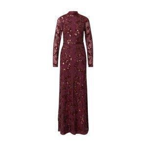 Maya Deluxe Společenské šaty  purpurová
