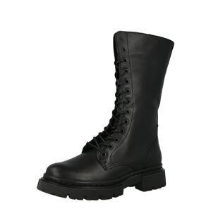 BULLBOXER Šněrovací boty  černá
