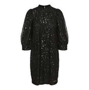 VERO MODA Koktejlové šaty 'Crystal'  černá