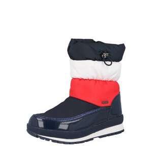 TOMMY HILFIGER Sněhule  tmavě modrá / červená / bílá