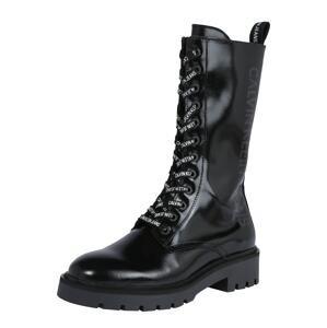 Calvin Klein Jeans Šněrovací boty  černá