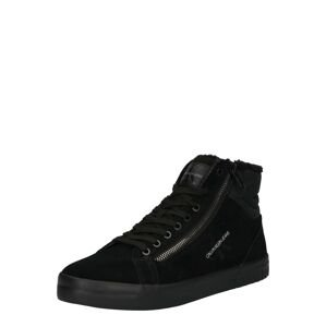 Calvin Klein Jeans Kotníkové tenisky  černá