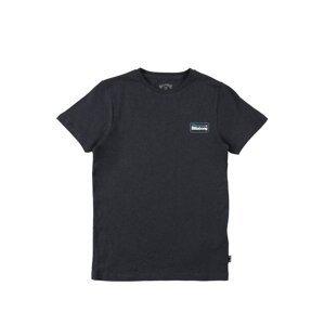 BILLABONG Funkční tričko  modrý melír / bílá / světlemodrá