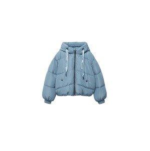 MANGO TEEN Zimní bunda 'Charlie'  pastelová modrá