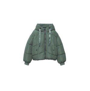 MANGO TEEN Zimní bunda 'Charlie'  tmavě zelená