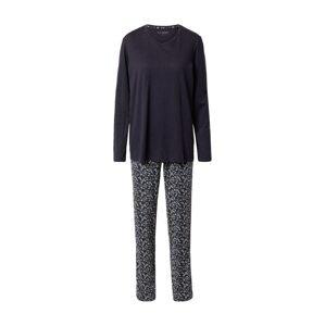SCHIESSER Pyžamo  tmavě modrá / světlemodrá / béžová