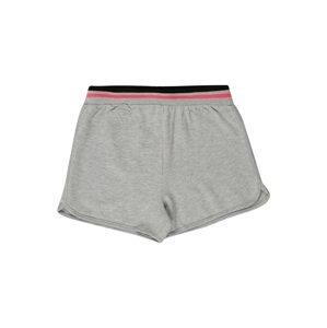 OVS Kalhoty  šedá / černá / pink