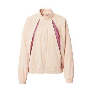 ADIDAS PERFORMANCE Sportovní bunda  pastelově růžová / bobule