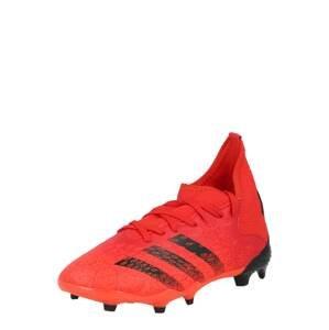 ADIDAS PERFORMANCE Sportovní boty 'Predator Freak 3'  červená / černá