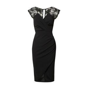 WAL G. Koktejlové šaty 'SIENNA'  černá
