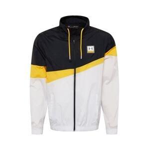 UNDER ARMOUR Sportovní bunda  světle šedá / kari / černá