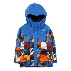 COLUMBIA Outdoorová bunda 'MIGHTY MOGUL II'  offwhite / jasně oranžová / burgundská červeň / královská modrá / černá