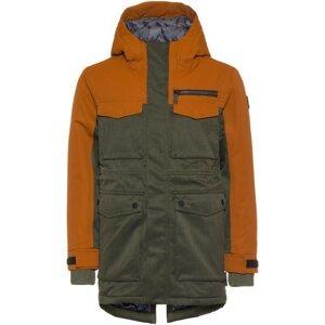 KILLTEC Zimní bunda  olivová / oranžová